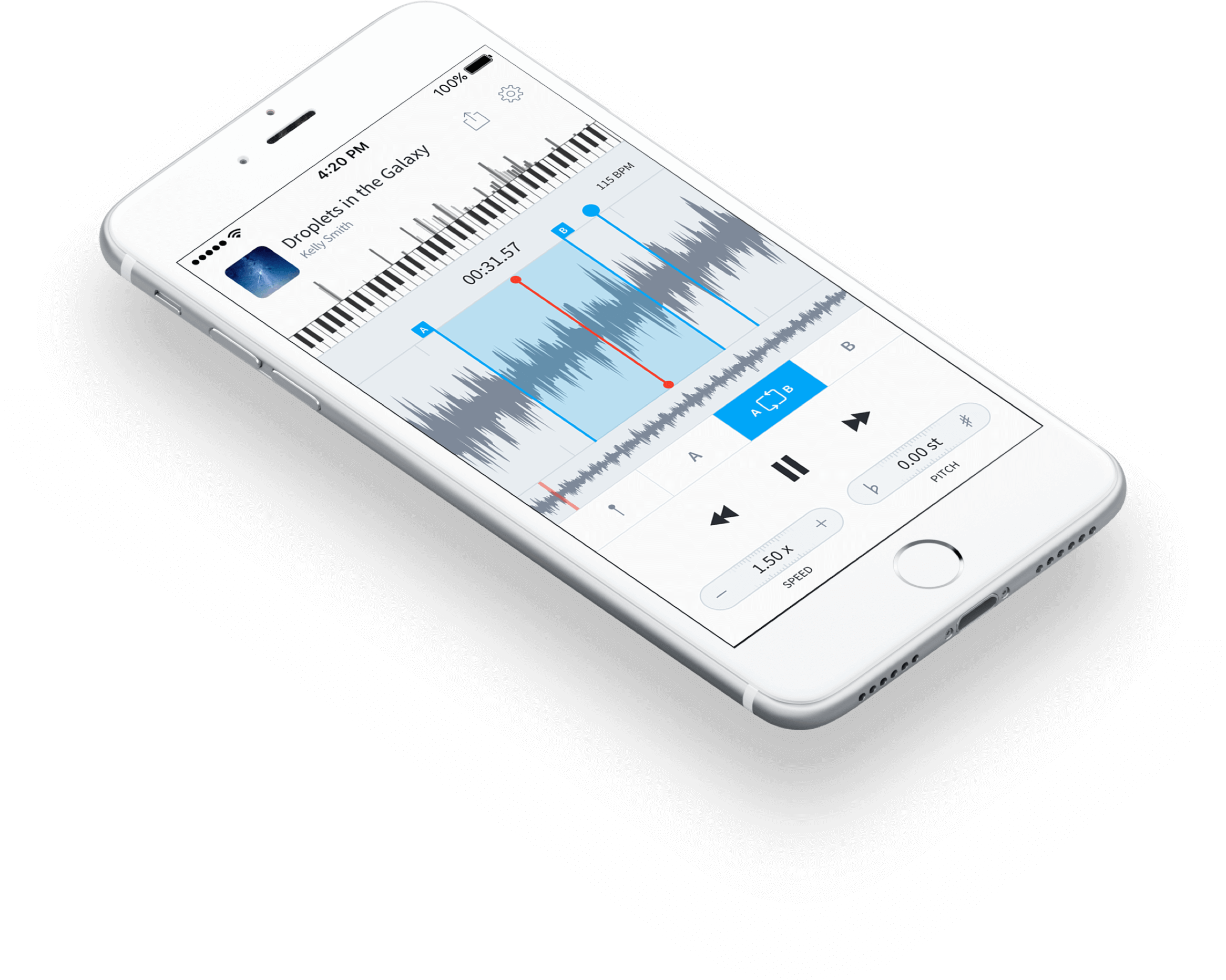 AudioStretch on iOS